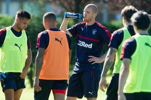 Rangers boss Mark Warburton could hand Phillipe Senderos his debut at Kilmarnock IF he can seal deal in time