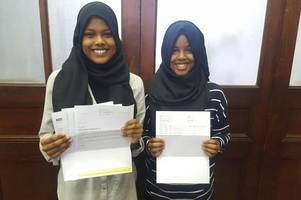 these cardiff sisters have swept the board in their gcses - and one even sat some a year early