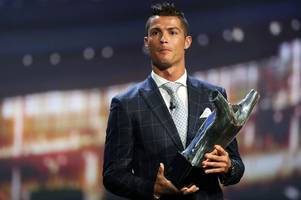 Real Madrid star Cristiano Ronaldo beats Gareth Bale and Antoine Griezmann to UEFA Best Player Award