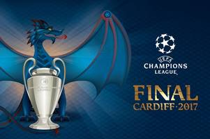 The Cardiff 2017 Champions League final branding has been revealed