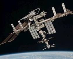 space station's orbit adjusted wednesday