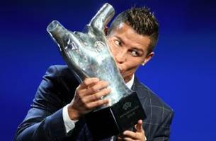 big surprise! cristiano ronaldo wins uefa best player award for 2016
