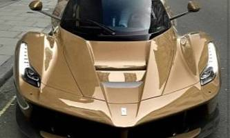 Mocha-Colored LaFerrari Is How Millionaires Have Coffee, Or Plain Photoshop
