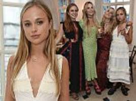 lady amelia windsor is a vision in white as she celebrates her 21st birthday