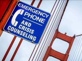 will new crisis text option reduce suicides at golden gate?  bridge district hopes so