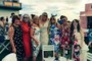 race goers turn on the style at ffos las  ladies day