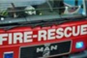 fire crews attend torquay laundrette blaze