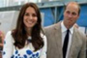 Prince William and Kate to visit Truro Cathedral, Newquay's Wave...