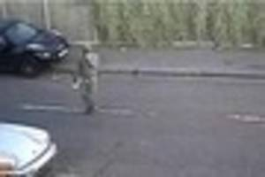 WATCH: Police appeal after convertible Porsche set alight in...