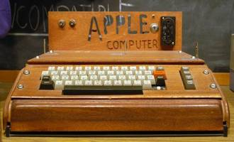 'first apple computer' sells for $815,000