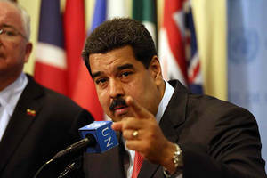 Venezuela's Maduro offers free houses for Olympians