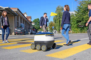 Swiss Post to test robots to deliver parcels, maybe even chocolate?