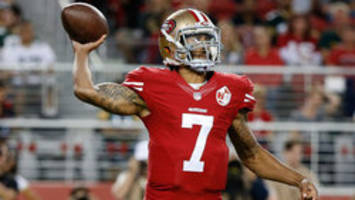 Colin Kaepernick refuses to stand for U.S. national anthem