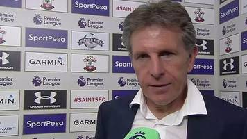 southampton 1-1 sunderland: claude puel expects new arrivals before window ends