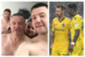 bristol rovers fans recreate iconic levi's 501 advert after...