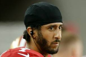 The 49ers address Colin Kaepernick's decision to sit during the national anthem