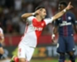 Monaco 3-1 Paris Saint-Germain: Emery's men fall to first defeat of the season