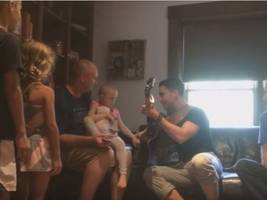 'american idol' winner nick fradiani visits young guilford resident fighting leukemia