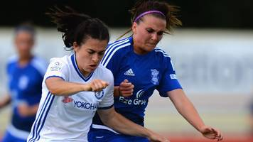Women's Super League One: Birmingham City Ladies 0-4 Chelsea Ladies