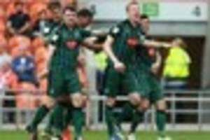 blackpool 0 plymouth argyle 1: player ratings and man-of-the-matc...