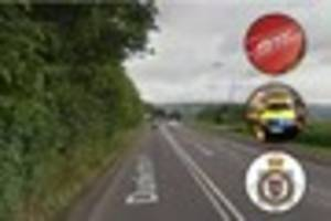 One person killed after car collides with tree on Dunkerton Hill...