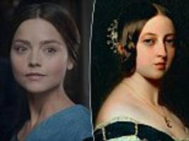 'Jenna Coleman is TOO pretty to play Victoria': Viewers of ITV period drama complain on Twitter that the British star 'isn't plain enough' to portray monarch