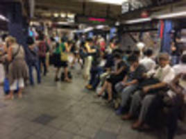 monday morning's terrible subway commute was an opportunity to find your bliss