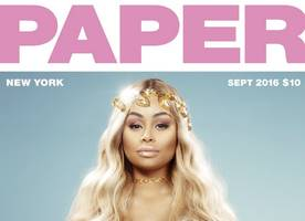 Pregnant Blac Chyna Poses Completely Naked for Paper Magazine