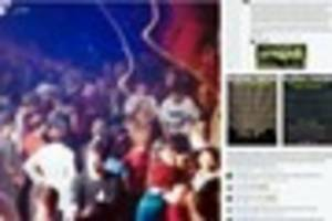 Avon and Somerset police Facebook post about illegal raves...