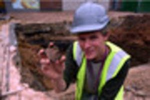 Roman flood defences found under Gloucester bus station