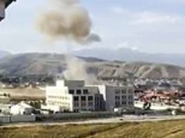 Chinese embassy in Kyrgyzstan attacked by suicide bomber