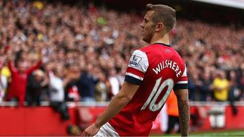 jack wilshere: watch his 2013/14 goal of the season for arsenal against norwich