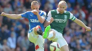 hibs & rangers face hearings over pitch invasion