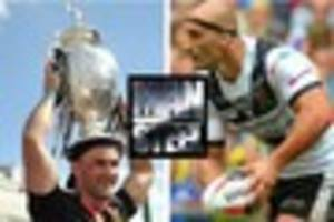danny houghton one of five hull fc stars on man of steel...