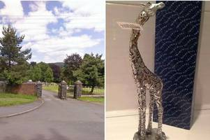 Aberdare family 'devastated' after sentimental giraffe ornament goes missing from a young girl's grave