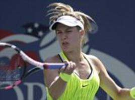 eugenie bouchard dumped out of us open in first round by world no 72 katerina siniakova