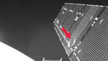 copernicus sentinel-1a satellite hit by space particle