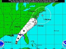 Tropical Storm Hermine May Impact New Jersey This Weekend