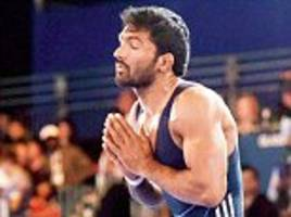 wrestler yogeshwar dutt's london olympics bronze medal is set to be upgraded to silver after russian athlete's positive dope test