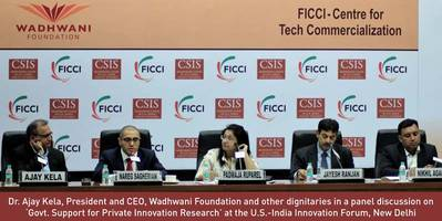 Wadhwani Chair in US-India Policy Studies, Announces the Launch of US-India Innovation Forum