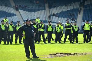 police investigating scottish cup final disorder make 64th arrest