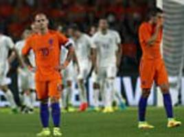 holland's woes continue as they fall 2-1 at home to greece in warm-up for world cup qualifying campaign