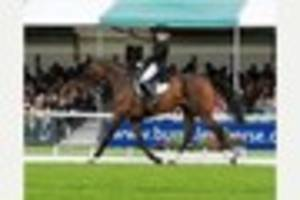 equestrian star ros canter starts her burghley international...