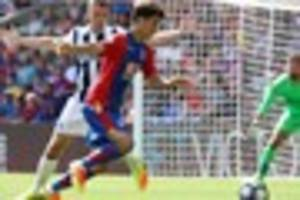 crystal palace midfielder nets first international goal for...