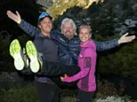 sir richard branson says he is determined to complete 1,250-mile charity challenge