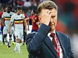former manchester united boss louis van gaal overlooked by belgium after 'boring' job pitch