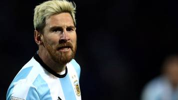 lionel messi: injured argentina forward out of 2018 world cup qualifier