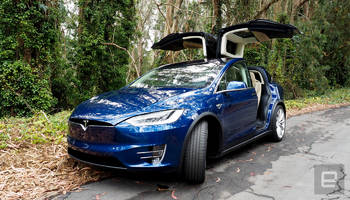 tesla may have disabled the model x's door safety sensors