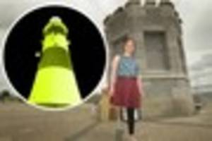 smeaton's tower to be turned gold later this month