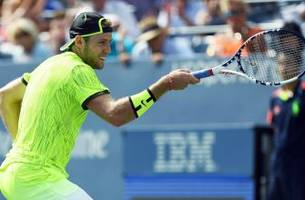 jack sock celebrated his u.s. open win over cilic with a fantastic fencing flourish